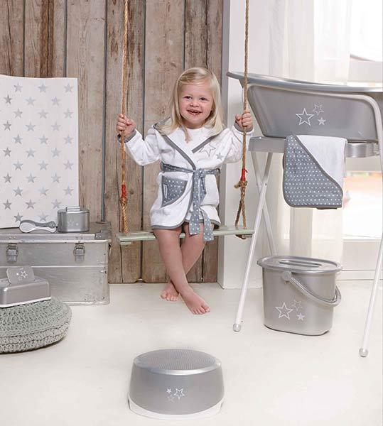Komplett-Set Designserie bébé-jou Silver Stars