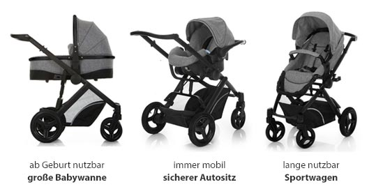Hauck Maxan 4 Kinderwagen