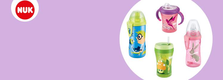 NUK Trinklernflaschen Trinkbecher