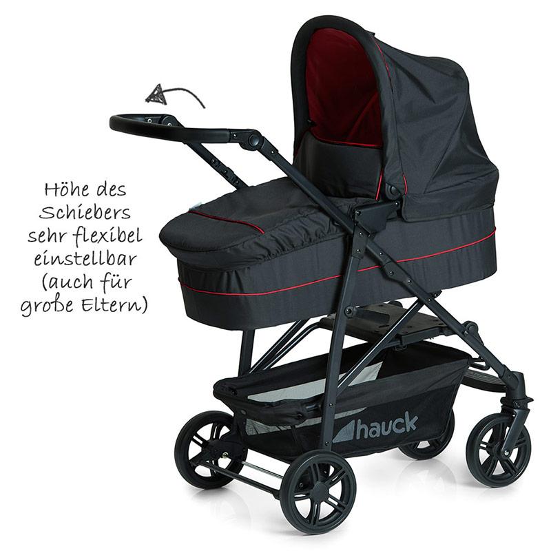 hauck kinderwagen 3in1 set rapid 4 plus trio tango. Black Bedroom Furniture Sets. Home Design Ideas