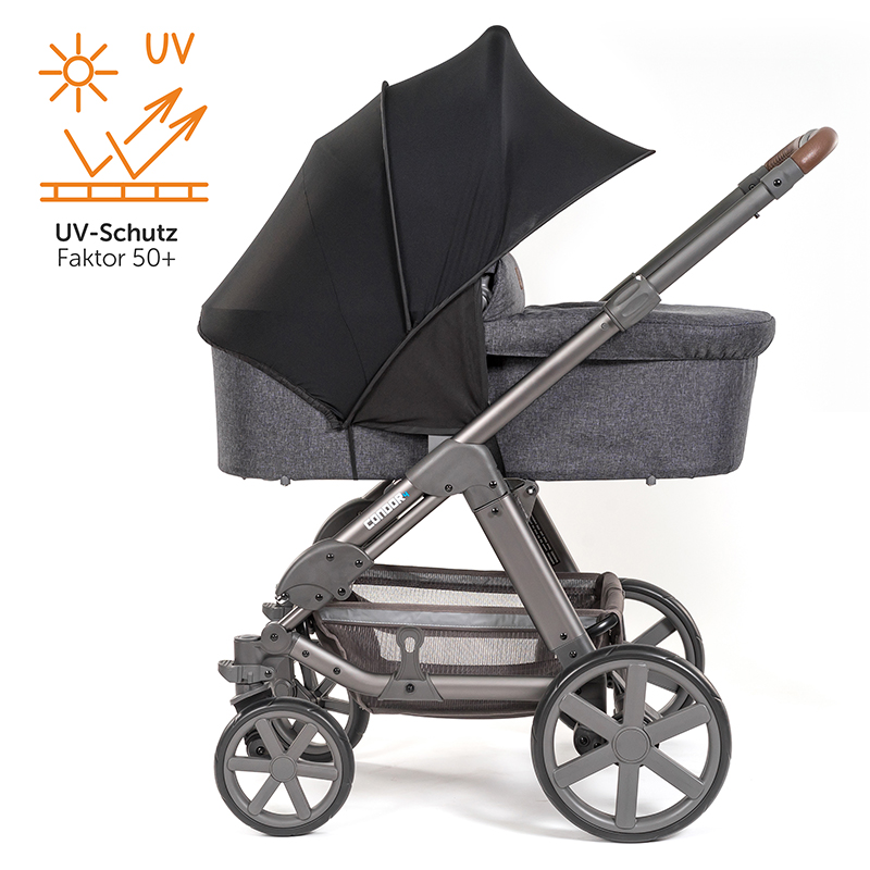 sonnendach sonnensegel sonnenschutz f r kinderwagen buggy uv schutz 50 ebay. Black Bedroom Furniture Sets. Home Design Ideas