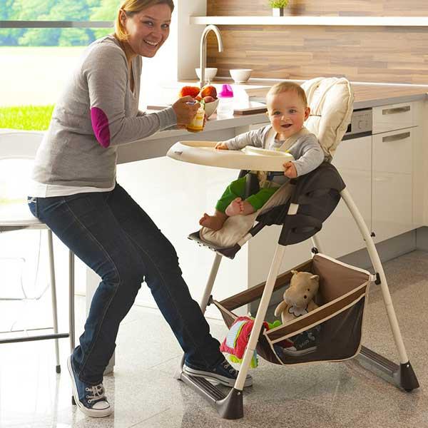 hochstuhl babyliege ab geburt hauck sit 39 n relax zoo klappbar mit tisch ebay. Black Bedroom Furniture Sets. Home Design Ideas