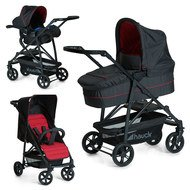 Kinderwagen-Set Rapid 4 Plus Trio Set - Caviar Tango