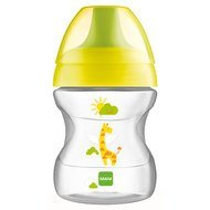 Trinklern-Flasche Learn to Drink Cup Fashion 190 ml - Gelb