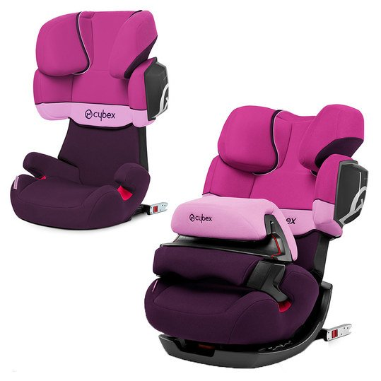 Cybex Kindersitz Pallas 2 Fix Purple Rain Babyartikel De