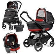 Kinderwagen-Set Book Plus XL Completo Modular Gestell Schwarz - Synergy