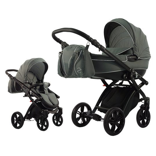 knorr baby kombi kinderwagen alive born to ride schwarz. Black Bedroom Furniture Sets. Home Design Ideas