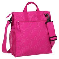Wickeltasche Casual Buggy Bag - Reflective Star - Magenta