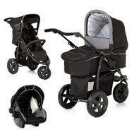 Kinderwagen-Set Viper Trio Set - Caviar Grey
