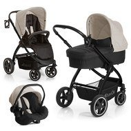 Kinderwagen-Set Priya Trio Set - Almond