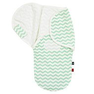 Puck-Wickeltuch Comfort-Swaddle s.Oliver - Chevron - Mint