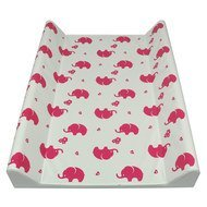 Wickelmulde Soft Folie - Elefant - Pink