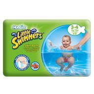Schwimmwindeln 12er Pack Little Swimmers - Disney - Gr. 3 - 4