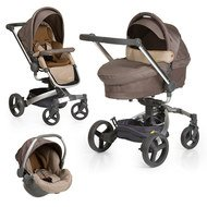 Kinderwagen-Set Twister Trio Set - Sand