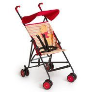 Buggy Sun Plus - Disney - Pooh Spring Brights Red