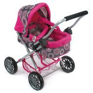 Puppenwagen Smarty - Hot Pink Pearls