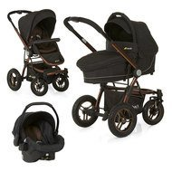 Kinderwagen-Set King Air Trio Set - Chocolate