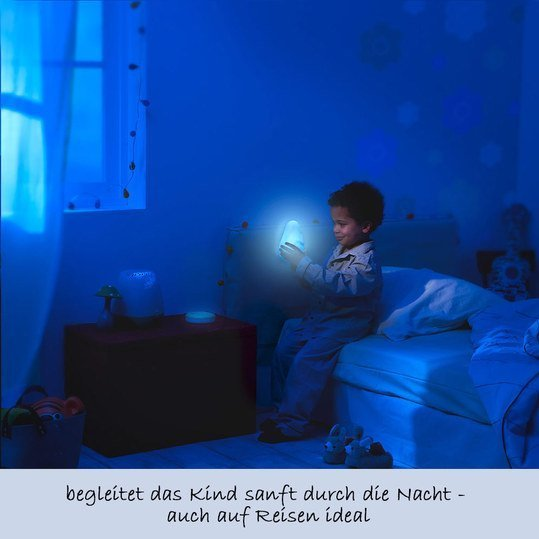 pabobo led nachtlicht lumilove barbapapa blau. Black Bedroom Furniture Sets. Home Design Ideas