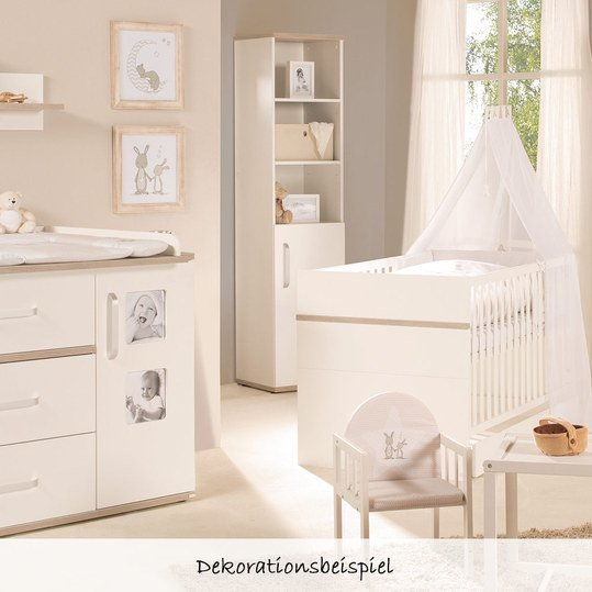 roba sparset kinderzimmer moritz mit schmaler wickelkommode. Black Bedroom Furniture Sets. Home Design Ideas
