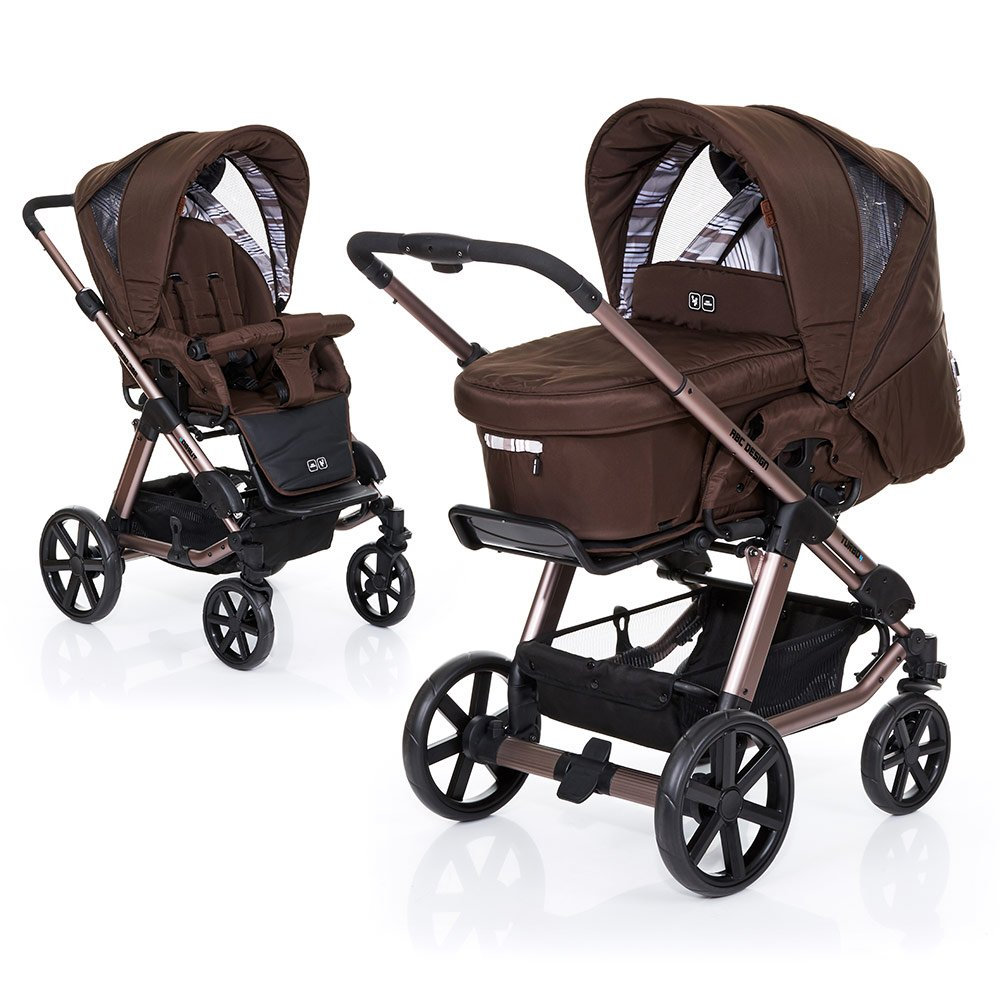 ABC Design Kombi-Kinderwagen Turbo 4 - Cacao 61003616