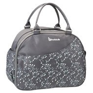 Wickeltasche Weekend - Confetti - Grau