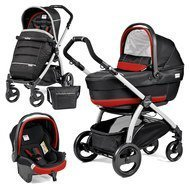 Kinderwagen-Set Book Plus XL Completo Modular Gestell Silber - Synergy