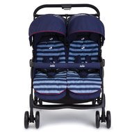 Geschwisterbuggy AireTwin - Nautical Navy
