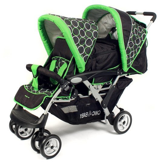chic 4 baby geschwisterwagen duo orbit green. Black Bedroom Furniture Sets. Home Design Ideas