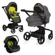 Kinderwagen-Set Twister Trio Set - Lime
