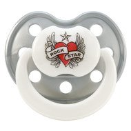 Schnuller RSB - Silikon 0-3 M - Heart & Wings