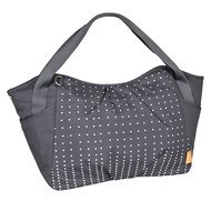 Wickeltasche Casual Twin Bag - Dotted Lines - Ebony