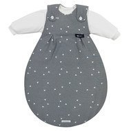 Baby-Mäxchen 3tlg. Gr. 56/62 - 68/74 - bellybutton Limited Edition Grey