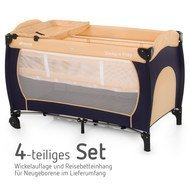 4-tlg. Reisebett-Set Sleep'n Play Center - Classic