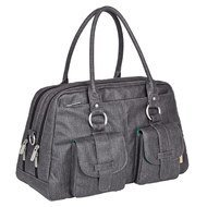 Wickeltasche Vintage Metro Bag - Twill - Black