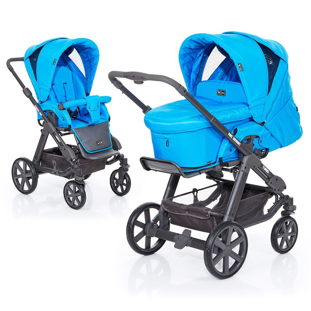 ABC Design Kombi-Kinderwagen Turbo 4 Fashion - Water 61003610