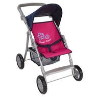Puppenbuggy Liba Flower Power - Pink