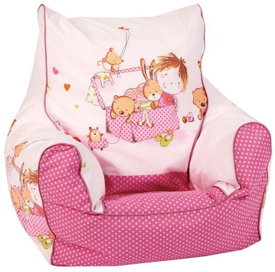 knorr baby mini sitzsack spielzimmer pink. Black Bedroom Furniture Sets. Home Design Ideas