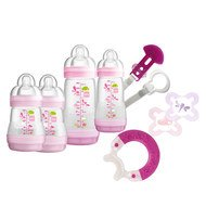 8-tlg. Starter-Set Welcome to the World Premium - Rosa