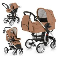 Kinderwagen-Set Malibu XL All in One - Toast Black