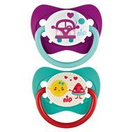 Schnuller 2er Pack Family - Latex 0-6 M - Bus & Frucht