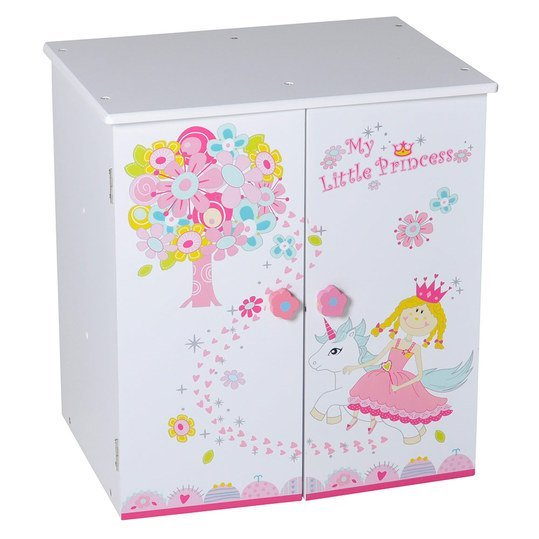 knorrtoys puppen schrank my little princess wei. Black Bedroom Furniture Sets. Home Design Ideas