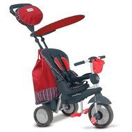 Dreirad Splash 5 in 1 mit Touch Steering - Red