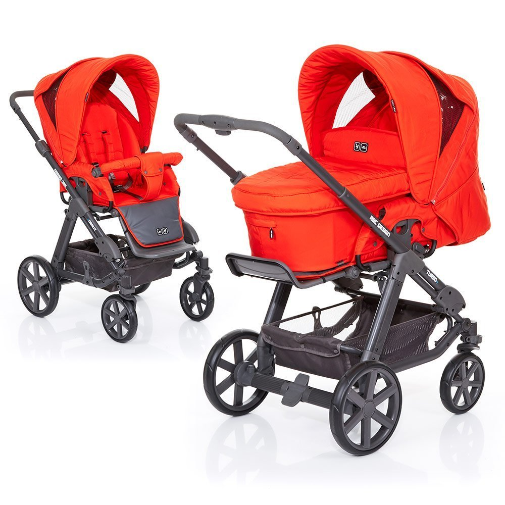 ABC Design Kombi-Kinderwagen Turbo 4 Fashion - Flame 61003609