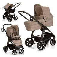 Kinderwagen-Set Soul Plus Trio Set - Melange Grey Almond