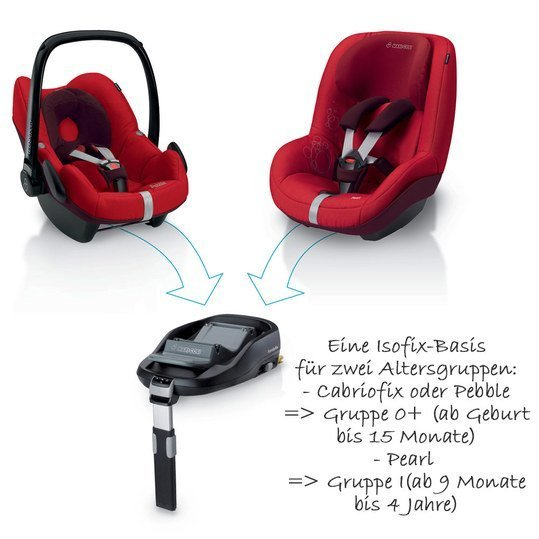 maxi cosi isofix basis familyfix f r cabriofix pebble. Black Bedroom Furniture Sets. Home Design Ideas