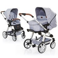 Kombi-Kinderwagen Turbo 4 - Graphite Grey