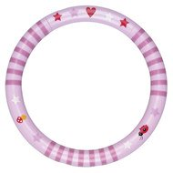 Rassel-Ring - Lucky-Stripes Rosa