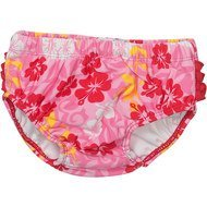 Bade-Windelhose Hawaii - Rosa Rot