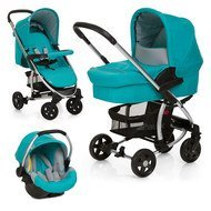 Kinderwagen-Set Miami 4 Trio Set - Petrol Grey