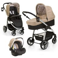 Kinderwagen-Set Lacrosse Trio Set - Rock Black